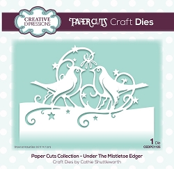 Creative Expressions - Die - Paper Cuts Under the Mistletoe Edger