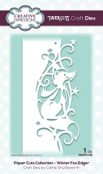 Creative Expressions - Die - Paper Cuts Winter Fox Edger