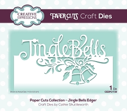Creative Expressions - Die - Paper Cuts Jingle Bells Edger