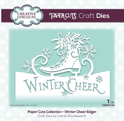 Creative Expressions - Die - Paper Cuts Winter Cheer Edger