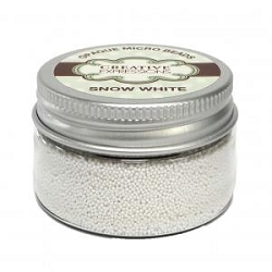 Creative Expressions - Micro Beads - Snow White (30gm)