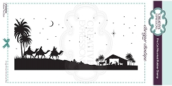 C.E. Designer Boutique - Follow The Star Cling Stamp