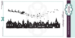 C.E. Designer Boutique - Above The Roof Tops Cling Stamp