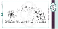 C.E. Designer Boutique - A Wish At Christmas Cling Stamp