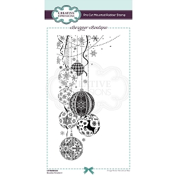 C.E. Designer Boutique - Bauble Pendant Cling Stamp