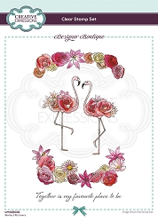 C.E. Designer Boutique - Clear Stamp - Perfect Partners by Pink Ink Designs