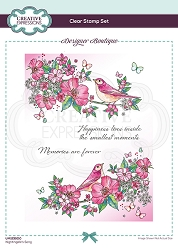 C.E. Designer Boutique - Clear Stamp - Nightingale's Song by Pink Ink Designs