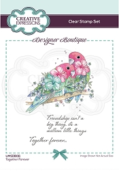 C.E. Designer Boutique - Clear Stamp - Together Forever by Pink Ink Designs