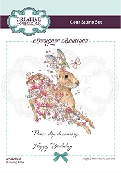 C.E. Designer Boutique - Clear Stamp - Running Free by Pink Ink Designs