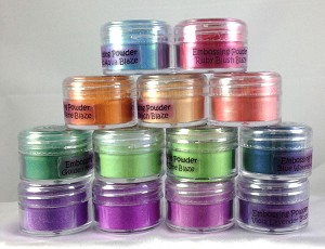 Creative Expressions Cosmic Shimmer Embossing Powders