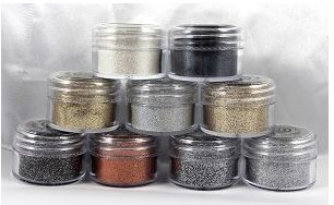 Cosmic Shimmer Sparkle Embossing Powders