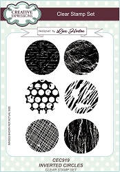 Creative Expressions - Clear Stamp - Inverted Circles by Lisa Horton