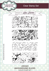 Creative Expressions - Clear Stamp - Background Slices by Lisa Horton :)