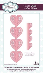 Creative Expressions - Die - Cut and Lift Collection by Lisa Horton - Heart String Edger