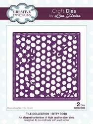 Creative Expressions - Die - Tile Collection by Lisa Horton - Bitty Dots