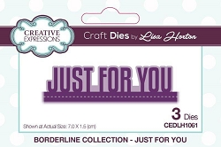 Creative Expressions - Die - Borderline Collection by Lisa Horton - Just for You