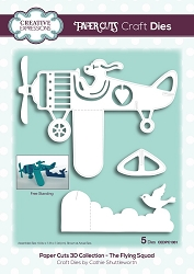 Creative Expressions - Die - Paper Cuts Collection The Flying Squad