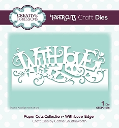 Creative Expressions - Die - Paper Cuts Collection With Love Edger