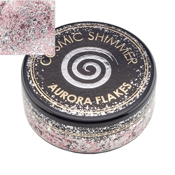 Creative Expressions - Icy Pink Cosmic Shimmer Aurora Flakes
