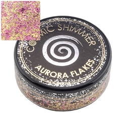 Creative Expressions - Golden Rose Cosmic Shimmer Aurora Flakes