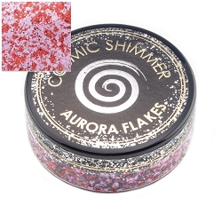 Creative Expressions - Blissful Berry Cosmic Shimmer Aurora Flakes