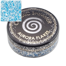 Creative Expressions - Blue Ice Cosmic Shimmer Aurora Flakes
