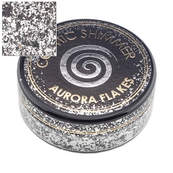 Creative Expressions - Black Diamond Cosmic Shimmer Aurora Flakes