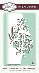 Creative Expressions - Paper Cuts Toadstool Dance Edger Die