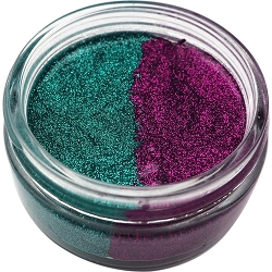 Creative Expressions - Cosmic Shimmer Glitter Kiss Duo - Peacock Feathers