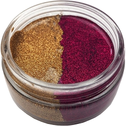 Creative Expressions - Cosmic Shimmer Glitter Kiss Duo - Golden Fire