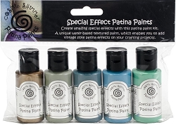 Creative Expressions - Cosmic Shimmer Special Effect Paint Kit - Patina