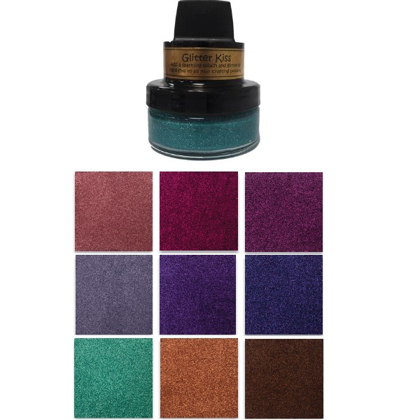 Creative Expressions - 9 new colors of Cosmic Shimmer Glitter Kiss
