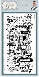 Creative Expressions - Cling Stamp - Sentimetally Yours Traveller by Phill Martin