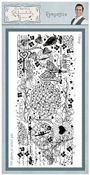 Creative Expressions - Cling Stamp - Sentimetally Yours Romantica by Phill Martin