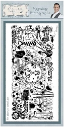 Creative Expressions - Cling Stamp - Sentimetally Yours Masculine Paraphernalia by Phill Martin