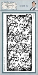 Creative Expressions - Cling Stamp - Sentimetally Yours Henna Inkby Phill Martin