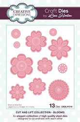 Creative Expressions - Die - Cut & Lift Collection by Lisa Horton - Blooms