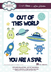 Creative Expressions - Die - Stitched Collection by Lisa Horton - Out of This World