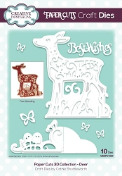 Creative Expressions - Die - Paper Cuts Collection - 3D Deer