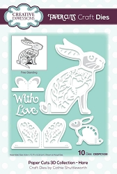 Creative Expressions - Die - Paper Cuts Collection - 3D Hare
