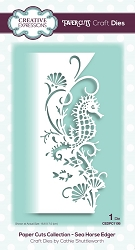 Creative Expressions - Die - Paper Cuts Sea Horse Edger