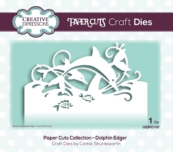 Creative Expressions - Die - Paper Cuts Dolphin Edger