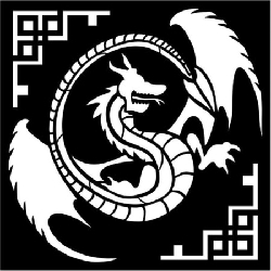 Creative Expressions - Stencil (6x6) - Year of the Dragon