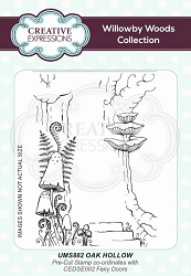 Creative Expressions - Willowby Woods Collection - Oak Hollow Cling Stamp