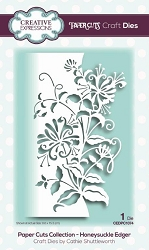 Creative Expressions - Die - Paper Cuts Collection Honeysuckle  Edger