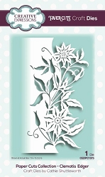 Creative Expressions - Die - Paper Cuts Collection Clematis Edger
