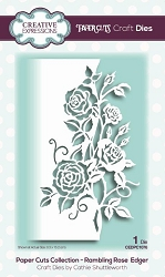 Creative Expressions - Die - Paper Cuts Collection Rambling Rose Edger