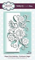 Creative Expressions - Die - Paper Cuts Collection Sunflower Edger