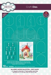 Creative Expressions - Willowby Woods Collection - Fairy Doors Die Set