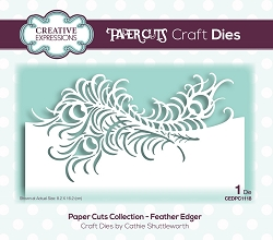 Creative Expressions - Die - Paper Cuts Feather Edger